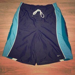 Nike Drawstring Adjustable Swim Trunks